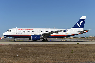 Hamburg Airways Airbus A320-214 D-AHHG (msn 730) PMI (Ton Jochems). Image: 923558.