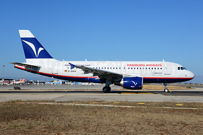 Hamburg Airways Airbus A319-111 D-AHHA (msn 3533) PMI (Ton Jochems). Image: 920440.
