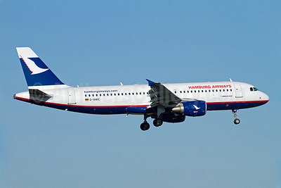 Hamburg Airways Airbus A320-214 D-AHHC (msn 2745) ARN (Stefan Sjogren). Image: 907139.
