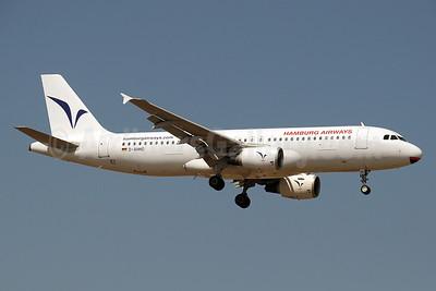 Hamburg Airways Airbus A320-214 D-AHHD (msn 716) AYT (Paul Denton). Image: 911951.