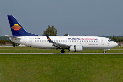 Hamburg International (Hamburginternational.de) Boeing 737-33A WL D-AHIG (msn 23827) STR (Jay Selman). Image: 403928.