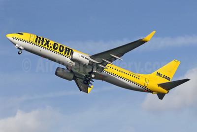 hlx.com (Hapag-Lloyd Express) Boeing 737-8K5 WL D-AHFO (msn 27987) SEN (Keith Burton). Image: 900363.