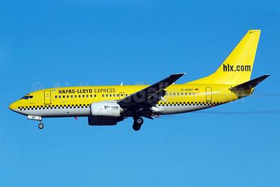Hapag-Lloyd Express - hlx.com Boeing 737-75B D-AGEP (msn 28102) HAM (Gerd Beilfuss). Image: 902953.