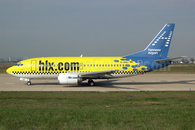 Hapag-Lloyd Express' 2005 Hannover Airport promotional livery