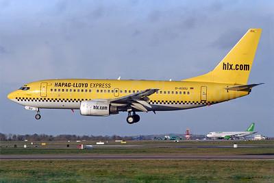 Hapag-Lloyd Express - hlx.com Boeing 737-75B D-AGEU (msn 28104) DUB (Michael Kelly). Image: 939682.