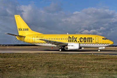 hlx.com (Hapag-Lloyd Express) Boeing 737-5K5 D-AHLF (msn 24927) ORY (Pepscl). Image: 939685.