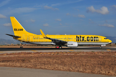 hlx.com (Hapag-Lloyd Express) Boeing 737-8K5 WL D-AHFO (msn 27987)  PMI (Ton Jochems). Image: 953858.