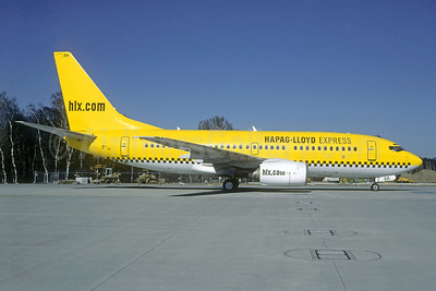 Hapag-Lloyd Express - hlx.com Boeing 737-75B D-AGER (msn 28107) CGN (Christian Volpati Collection). Image: 939683.