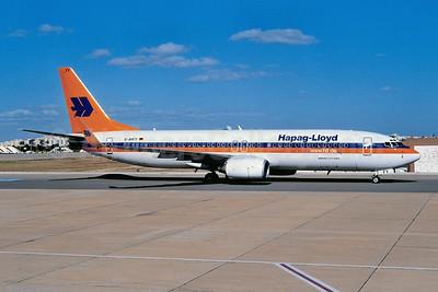 Hapag-Lloyd Flug Boeing 737-8K5 WL D-AHFY (msn 30417) FAO  (Ton Jochems). Image: 953647.