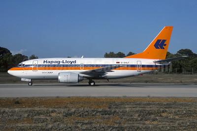 Hapag-Lloyd Flug Boeing 737-5K5 D-AHLF (msn 24927) PMI (Christian Volpati). Image: 953643.