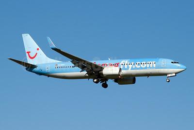 Hapagfly.com Boeing 737-8K5 WL D-AHFF (msn 27980) DUS (Jay Selman). Image: 403013.