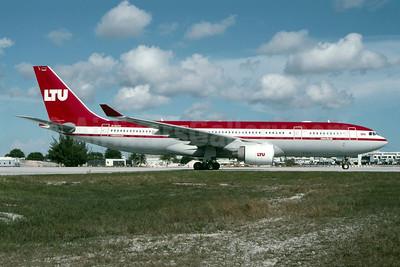 LTU International Airways Airbus A330-223 D-ALPC (msn 444) MIA (Bruce Drum). Image: 105620.