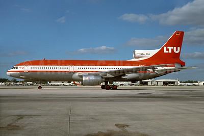 LTU International Airways Lockheed L-1011-385-3 TriStar 500 D-AERT (msn 1183) MIA (Bruce Drum). Image: 104207.