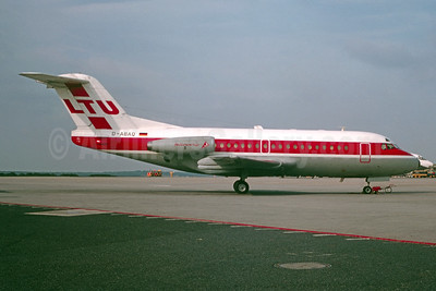 LTU International Airways Fokker F.28 Mk. 1000 Fellowship D-ABAQ (msn 11004) (Bruce Drum Collection). Image: 955452.