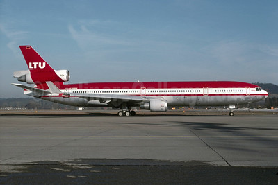 LTU International Airways McDonnell Douglas MD-11 D-AERW (msn 48485) ZRH (Marcel Walther - Bruce Drum Collection). Image: 955453.