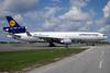 Lufthansa Cargo McDonnell Douglas MD-11F D-ALCC (msn 48783) (Aktion Deutschland Hilft) YYZ (TMK Photography). Image: 913225.