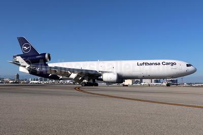 Lufthansa Cargo McDonnell Douglas MD-11F D-ALCA (msn 48781) LAX. Image: 947109.