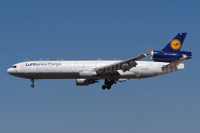 Lufthansa Cargo McDonnell Douglas MD-11F D-ALCA (msn 48781) FRA (Paul Bannwarth). Image: 943190.
