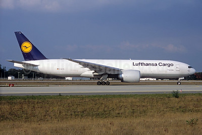 Lufthansa Cargo Boeing 777-FBT D-ALFA (msn 41674) (Jacques Guillem Collection). Image: 927909.