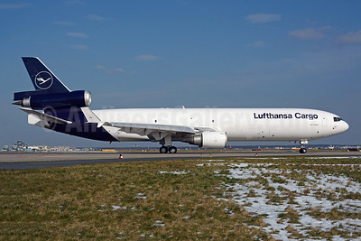 First MD-11F in the new livery
