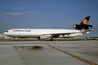 Lufthansa Cargo McDonnell Douglas MD-11F D-ALCD (msn 48784) MIA (Bruce Drum). Image: 105180.