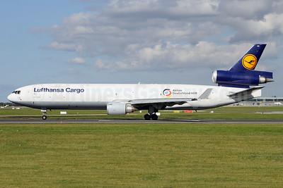 Lufthansa Cargo McDonnell Douglas MD-11F D-ALCC (msn 48783) (Aktion Deutschland Hilft) DUB (Michael Kelly). Image: 939864.