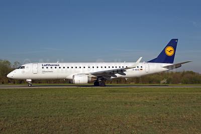 Lufthansa - Lufthansa CityLine Embraer ERJ 190-100LR D-AECE (msn 19000341) ZRH (Rolf Wallner). Image: 941638.