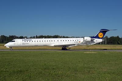 Lufthansa-Lufthansa CityLine Bombardier CRJ900 (CL-600-2D24) D-ACKL (msn 15095) ZRH (Rolf Wallner). Image: 946831.