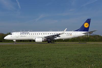 Lufthansa - Lufthansa CityLine Embraer ERJ 190-100LR D-AECH (msn 19000376) ZRH (Rolf Wallner). Image: 948440.
