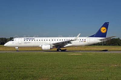 Lufthansa - Lufthansa CityLine Embraer ERJ 190-100LR D-AECF (msn 19000359) ZRH (Rolf Wallner). Image: 946833.