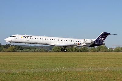 Lufthansa-Lufthansa CityLine Bombardier CRJ900 (CL-600-2D24) D-ACNK (msn 15251) ZRH (Andi Hiltl). Image: 950758.