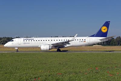Lufthansa-Lufthansa CityLine Embraer ERJ 190-100LR D-AECD (msn 19000337) ZRH (Rolf Wallner). Image: 942416.