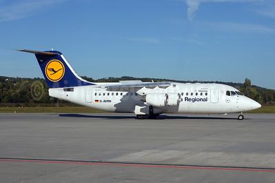 Lufthansa Regional-CityLine BAe RJ85 D-AVRN (msn E2293) ZRH (Rolf Wallner). Image: 907219.