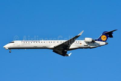 Lufthansa Regional-CityLine Bombardier CRJ900 (CL-600-2D24) D-ACKG (msn 15084) BSL (Paul Bannwarth). Image: 938934.