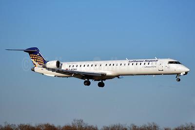 Lufthansa Regional-CityLine Bombardier CRJ900 (CL-600-2D24) D-ACNV (msn 15268) BSL (Paul Bannwarth). Image: 938938.