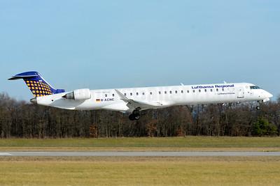 Lufthansa Regional-CityLine Bombardier CRJ900 (CL-600-2D24) D-ACNC (msn 15236) BSL (Paul Bannwarth). Image: 938935.