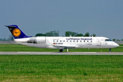Lufthansa Regional-CityLine Bombardier CRJ200 (CL-600-2B19) D-ACHC (msn 7394) DUB (SM Fitzwilliams Collection). Image: 920529.