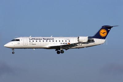 Lufthansa Regional-CityLine Bombardier CRJ200 (CL-600-2B19) D-ACHB (msn 7391) LHR (Antony J. Best). Image: 902975.
