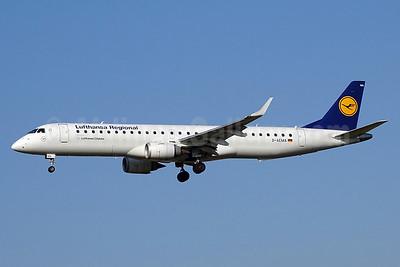 CityLine (Lufthansa CityLine) Embraer ERJ 190-200LR (ERJ 195) D-AEMA (msn 19000290) ZRH (Paul Bannwarth). Image: 938941.