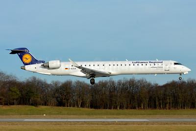 Lufthansa Regional-CityLine Bombardier CRJ900 (CL-600-2D24) D-ACKA (msn 15072) BSL (Paul Bannwarth). Image: 938933.