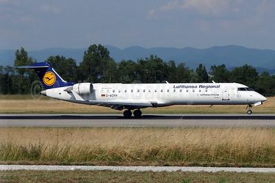 Lufthansa Regional-CityLine Bombardier CRJ700 (CL-600-2C10) D-ACPH (msn 10043) BSL (Paul Bannwarth). Image: 926110.
