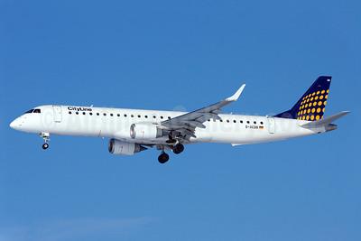 CityLine (Lufthansa CityLine) Embraer ERJ 190-200LR (ERJ 195) D-AEBB (msn 19000316) MUC (Arnd Wolf). Image: 904592.