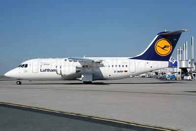 Lufthansa Regional-CityLine BAe RJ85 D-AVRP (msn E2303) CDG (Christian Volpati). Image: 920965.