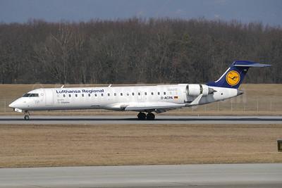 Lufthansa Regional-CityLine Bombardier CRJ700 (CL-600-2C10) D-ACPA (msn 10012) GVA (Paul Denton). Image: 920964.