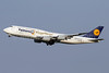 Lufthansa's winning German World Cup team airplane