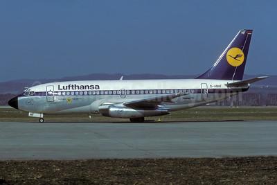 Lufthansa Boeing 737-230 D-ABHF (msn 22134) ZRH (Rolf Wallner). Image: 935449.