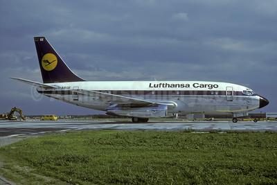 Lufthansa Cargo Boeing 737-230C D-ABGE (msn 20257) FRA (Rolf Wallner). Image: 935451.