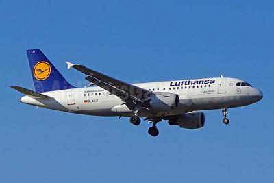 Lufthansa Airbus A319-114 D-AILR (msn 723) ZRH (Paul Bannwarth). Image: 924021.