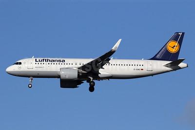 Lufthansa Airbus A320-271N WL D-AING (msn 7588) LHR (SPA). Image: 940765.