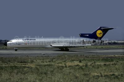Lufthansa's 1982 experimental metal scheme